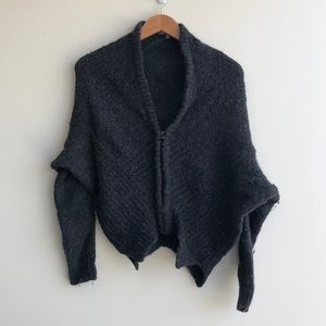 VINCE cardigan gray. XS